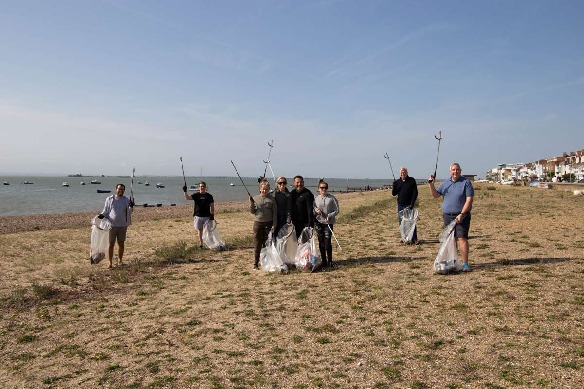 Jump join Mindful Chef in Great British Beach Clean